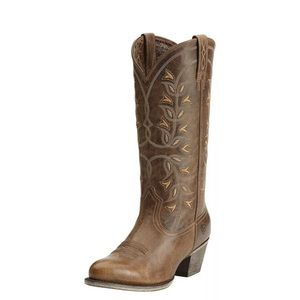 Ariat  Cowgirl boots.